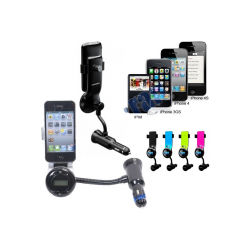 kit-mains-libres-transmet-fm-rose-chargeur-iphone