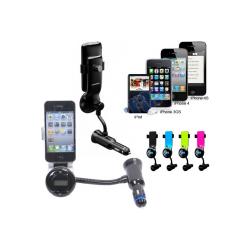 kit-mains-libres-transmet-fm-jaune-chargeur-iphone